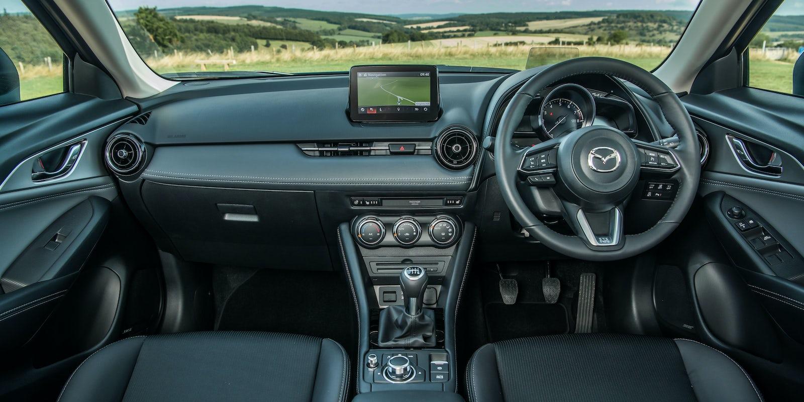 Mazda Cx 3 Interior Infotainment Carwow