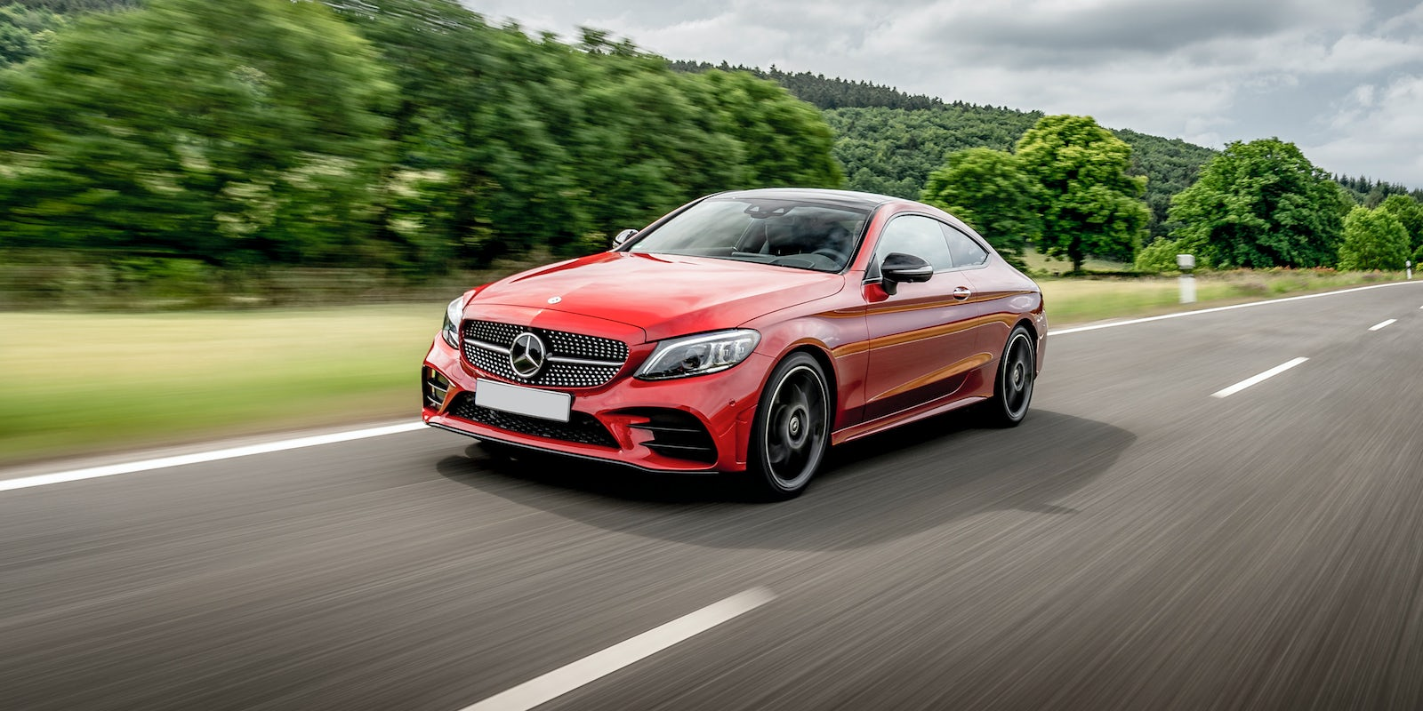 New Mercedes C Class Coupe Review Carwow