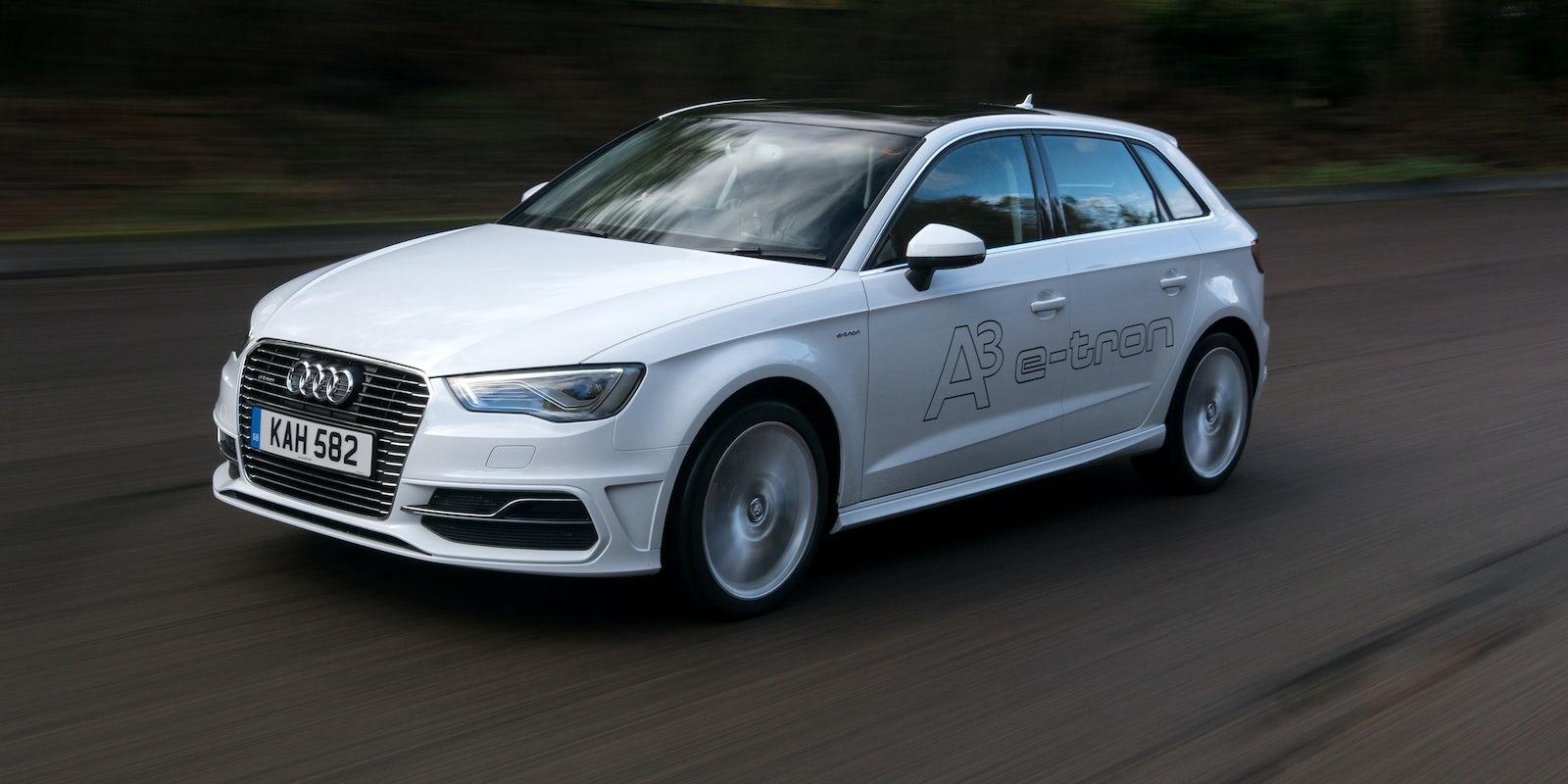 New Audi A Etron Review Carwow - Audi a 3 etron