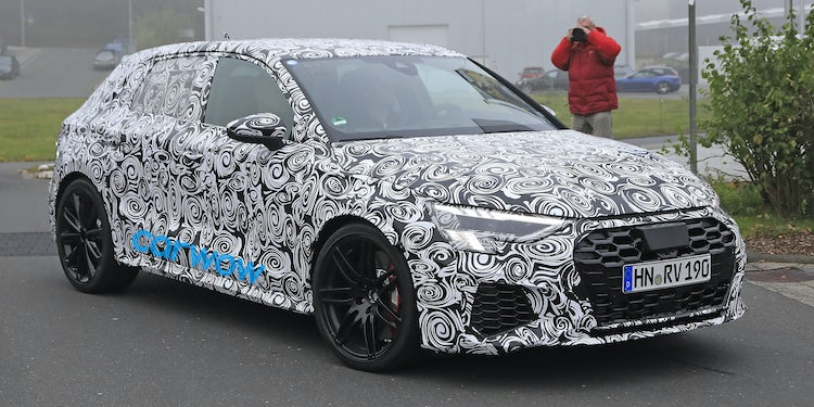 2020 Audi S3 Review.All New 2020 Audi Rs3 Sportback Spotted Testing Near The