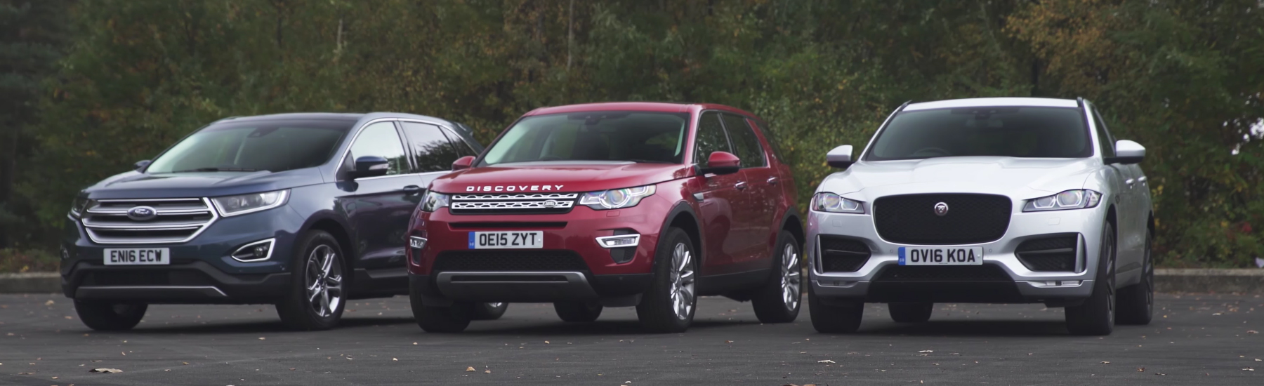 Jaguar F Pace Vs Land Rover Discovery Sport Vs Ford Edge Styling