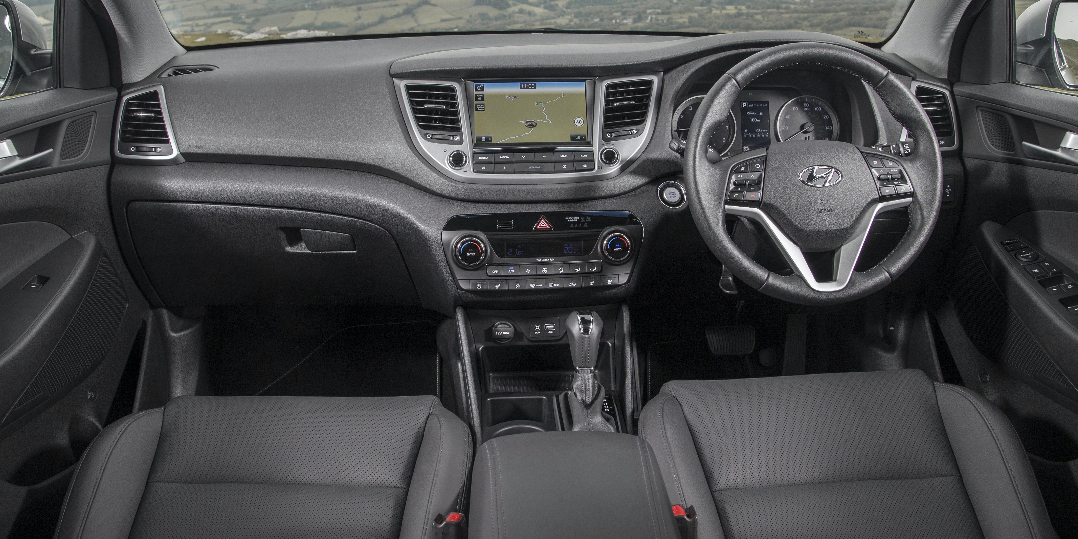Hyundai Tucson Interior And Infotainment Carwow