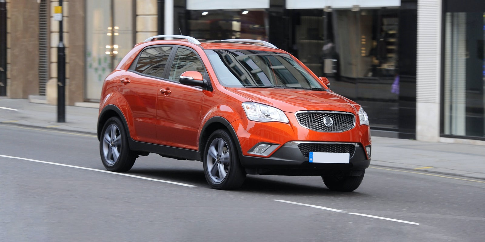 New Ssangyong Korando Review Carwow