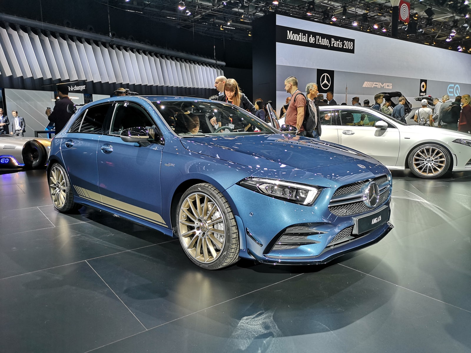 Paris Motor Show Carwow - Unique tin car show 2018