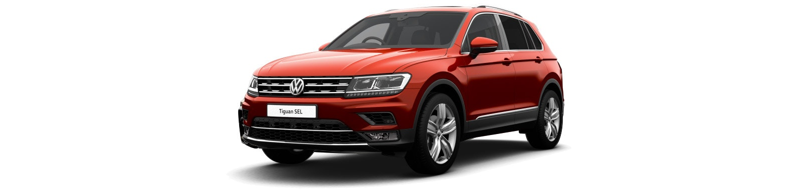 Ruby Red VW Tiguan