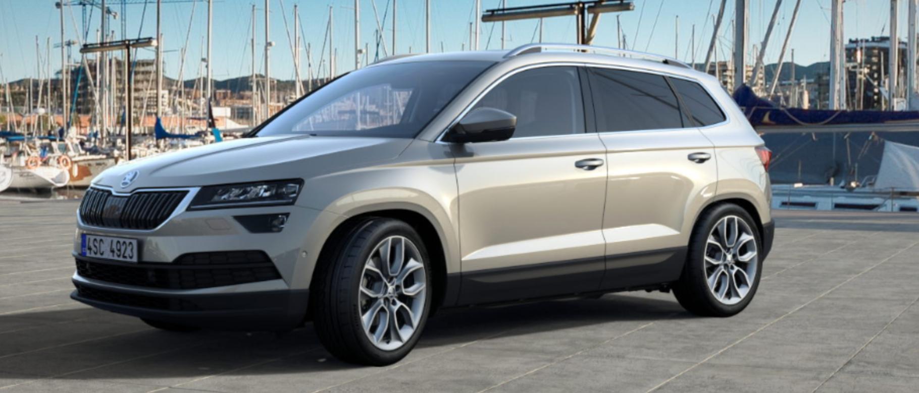 skoda karoq colours guide and prices | carwow