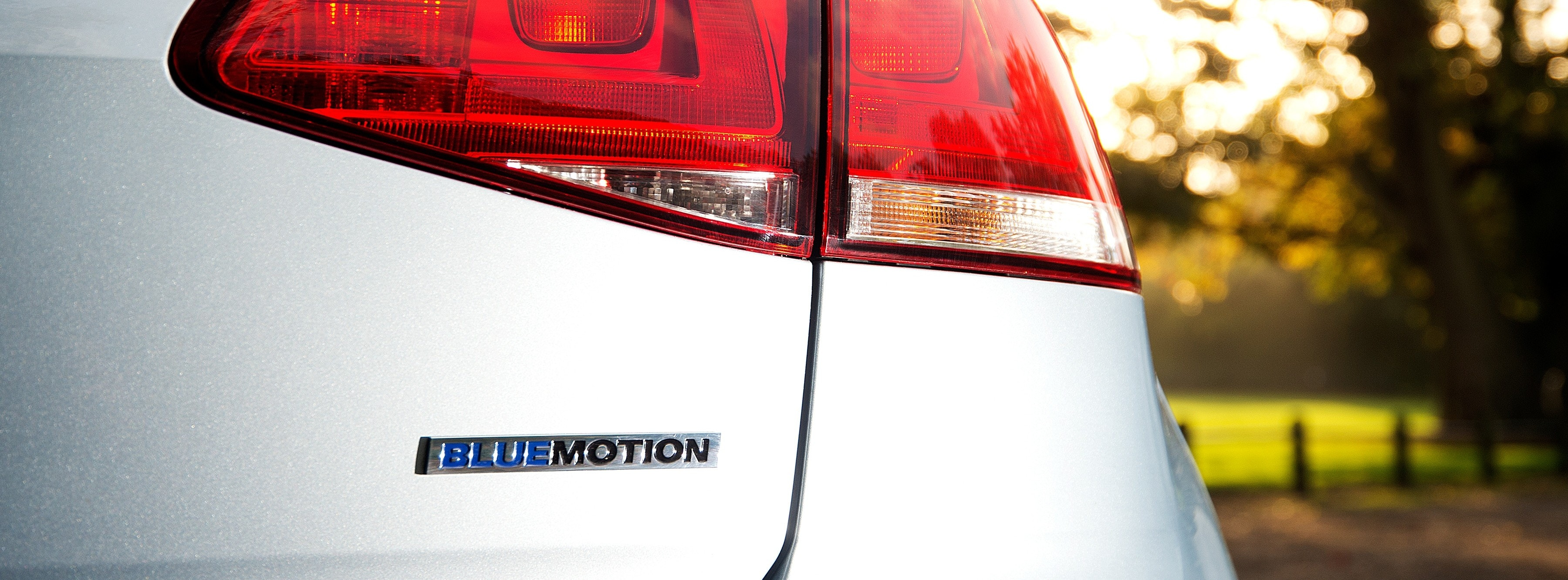 Photo of Golf Bluemotion rear badge