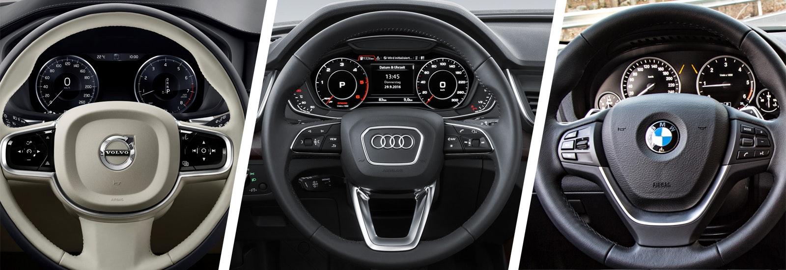 Volvo XC60 vs Audi Q5 vs BMW X3 SUV comparison | carwow