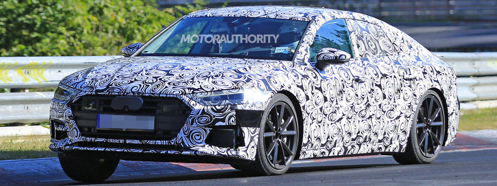 2018 audi rs7. contemporary audi the speedy s7 version shown above features the same cosmetic changes as  its a7 sibling but adds sporty quad exhaust tips and slightly lowered suspension intended 2018 audi rs7