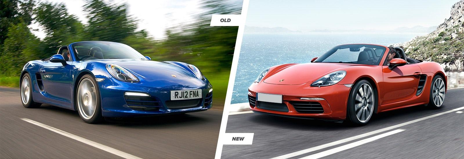 Porsche 718 Boxster Old Vs New Comparison Carwow