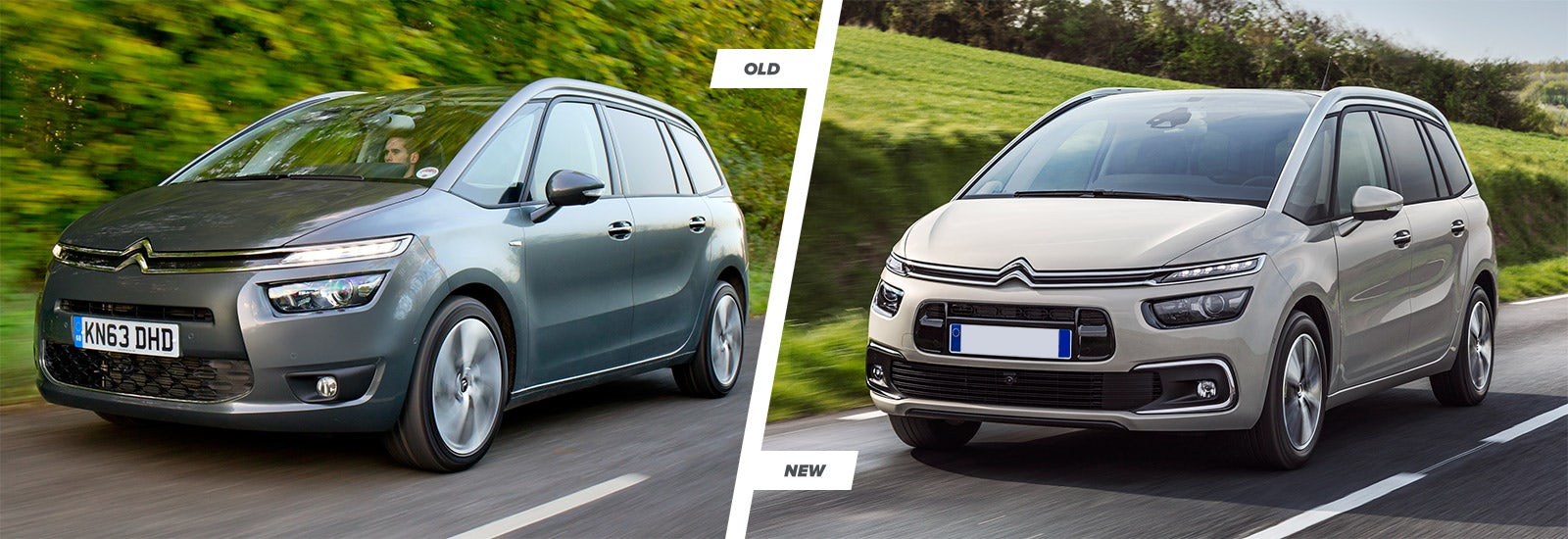 citroen c4 picasso facelift old vs new carwow. Black Bedroom Furniture Sets. Home Design Ideas