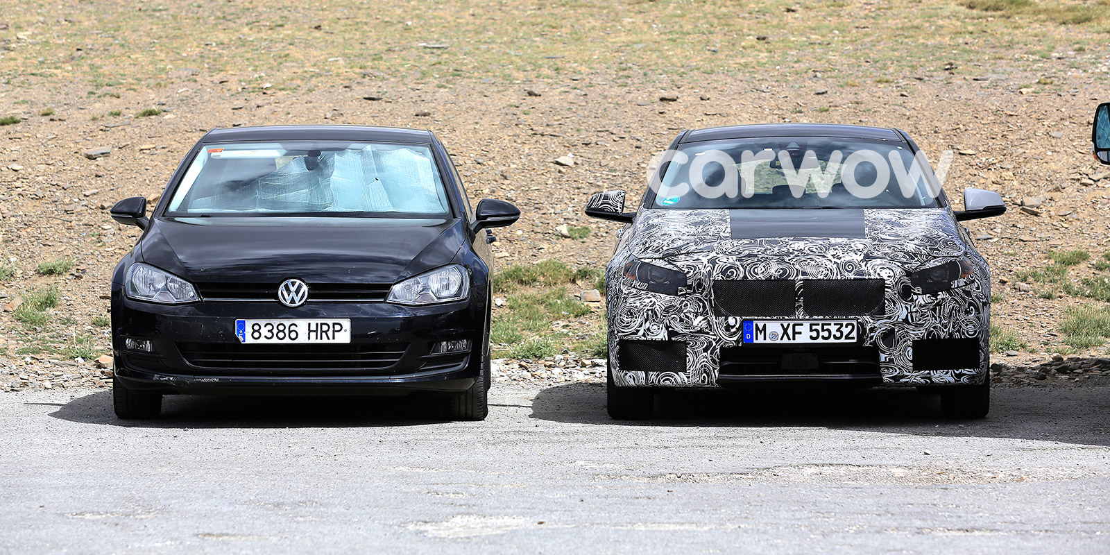 2018 bmw 1 series hatchback. brilliant 2018 parked next to a vw golf the new 1 series is clearly very similar size with 2018 bmw series hatchback