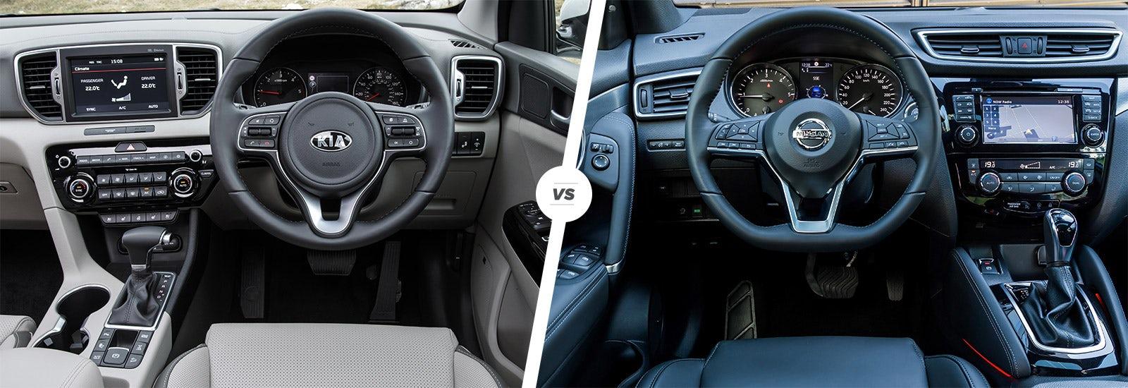 Kia Sportage vs Nissan Qashqai: which is best? | carwow