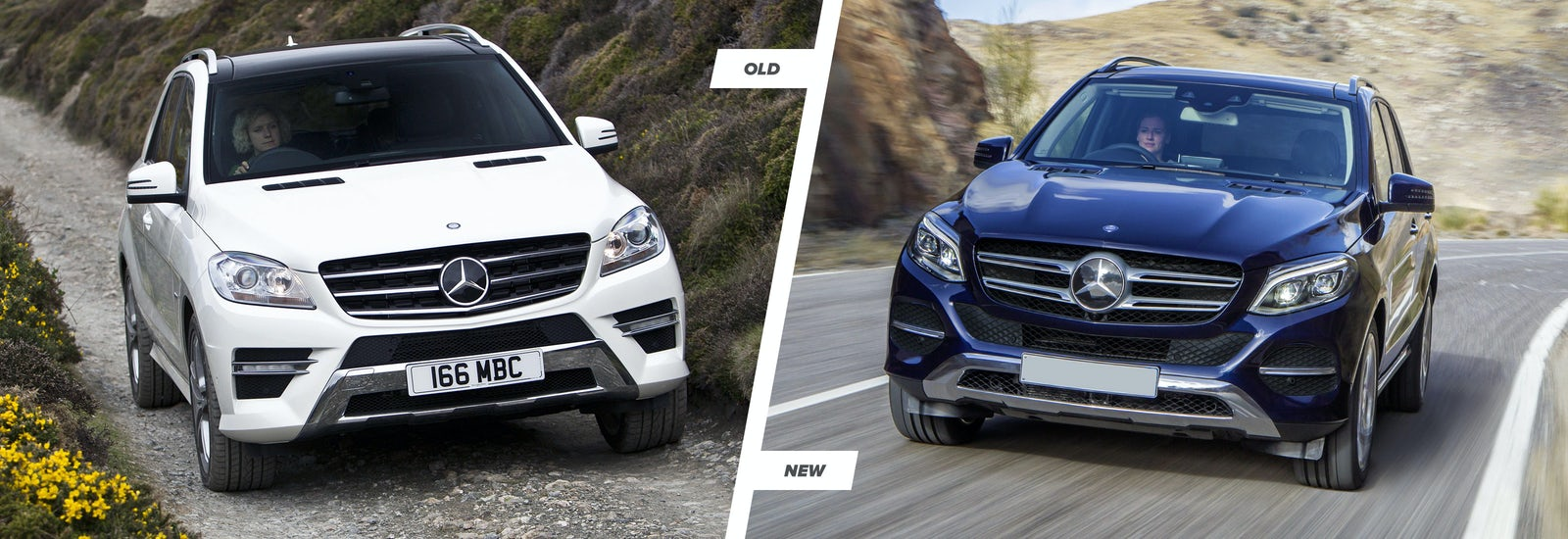 2015 Mercedes Gle Vs M Class Suv Old Vs New Carwow
