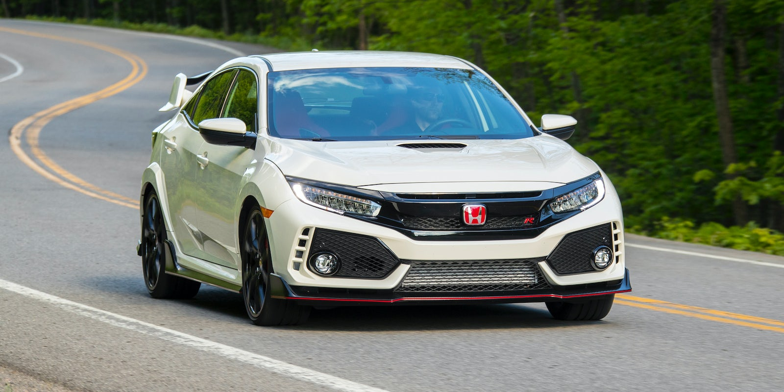 honda civic type r 2017 review carwow. Black Bedroom Furniture Sets. Home Design Ideas