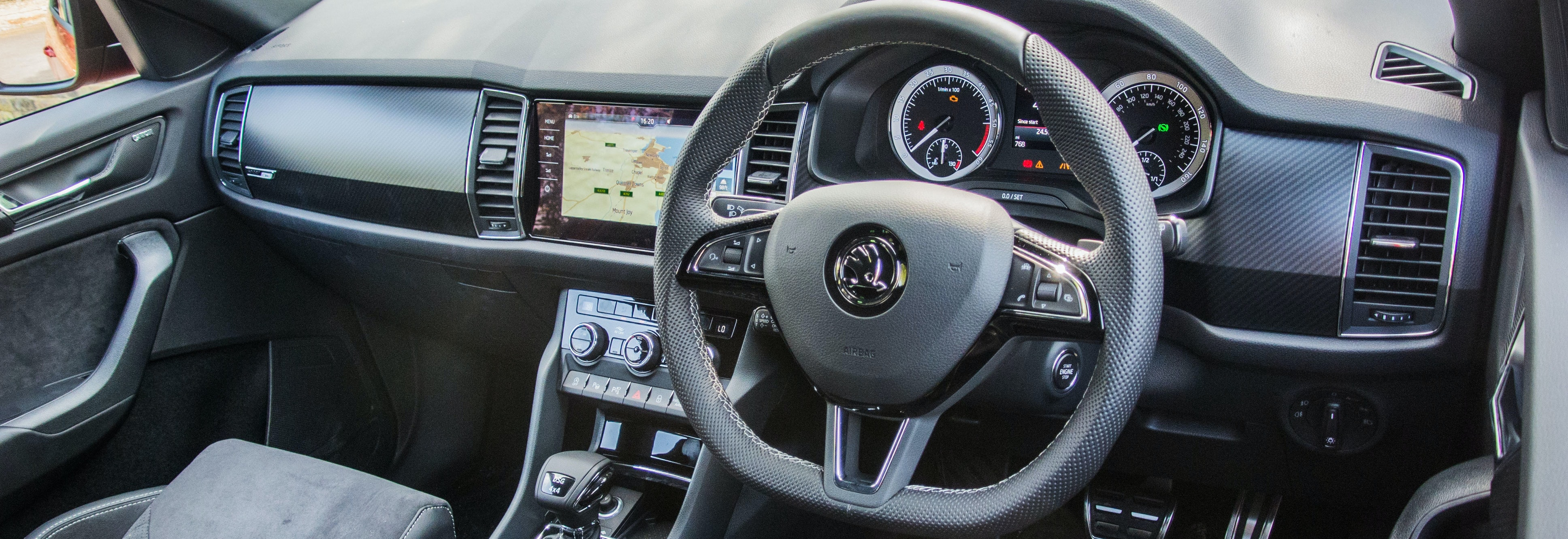 2018 skoda kodiaq interior dashboard