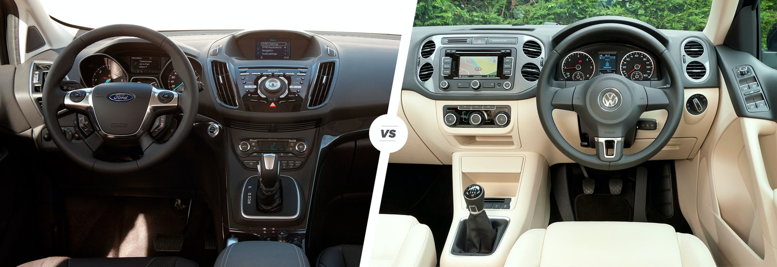 Ford Kuga vs VW Tiguan: crossovers compared   carwow