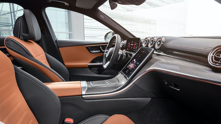 2021 Mercedes C Class Saloon And Estate Revealed Prices Specs And Release Date Carwow