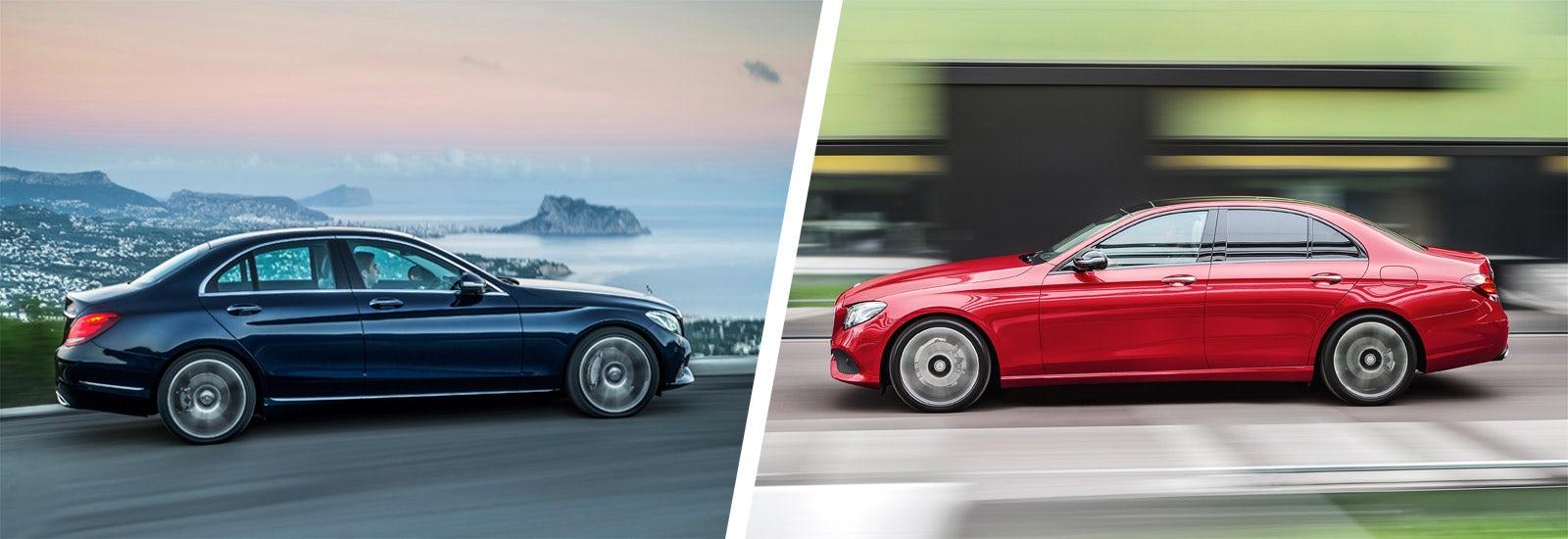 Mercedes C-Class vs Mercedes E-Class comparison | carwow
