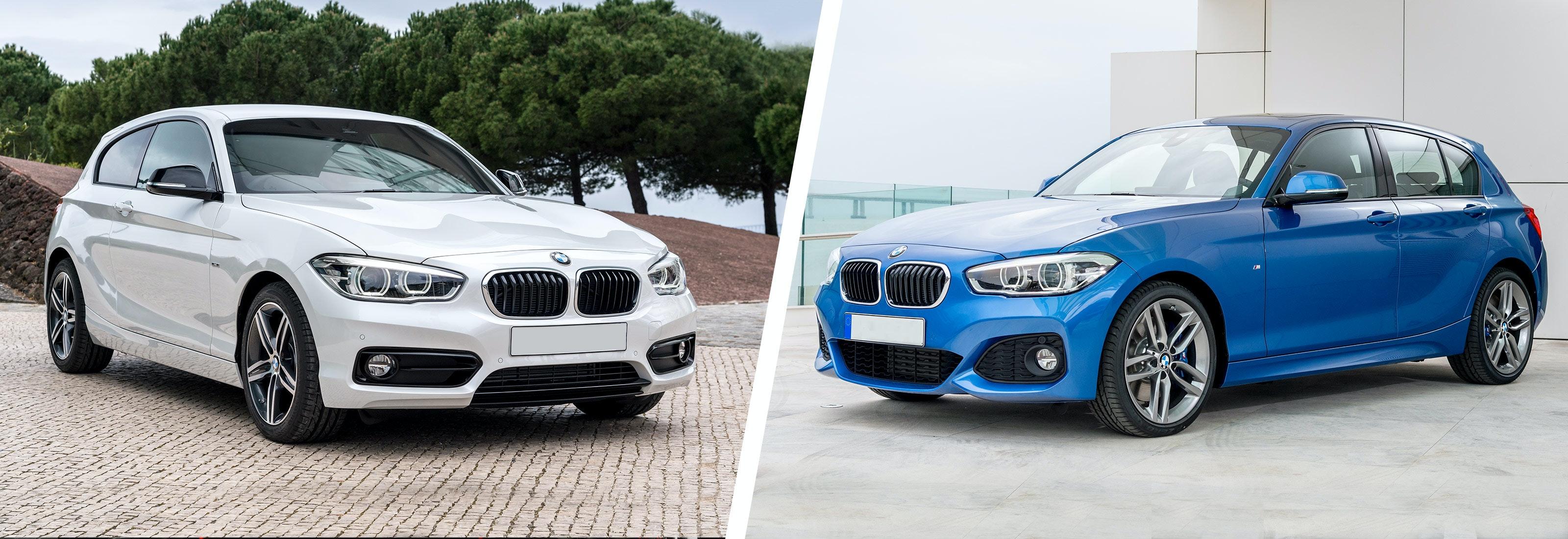BMW 1 Series M Sport Vs Non M Sport Exterior