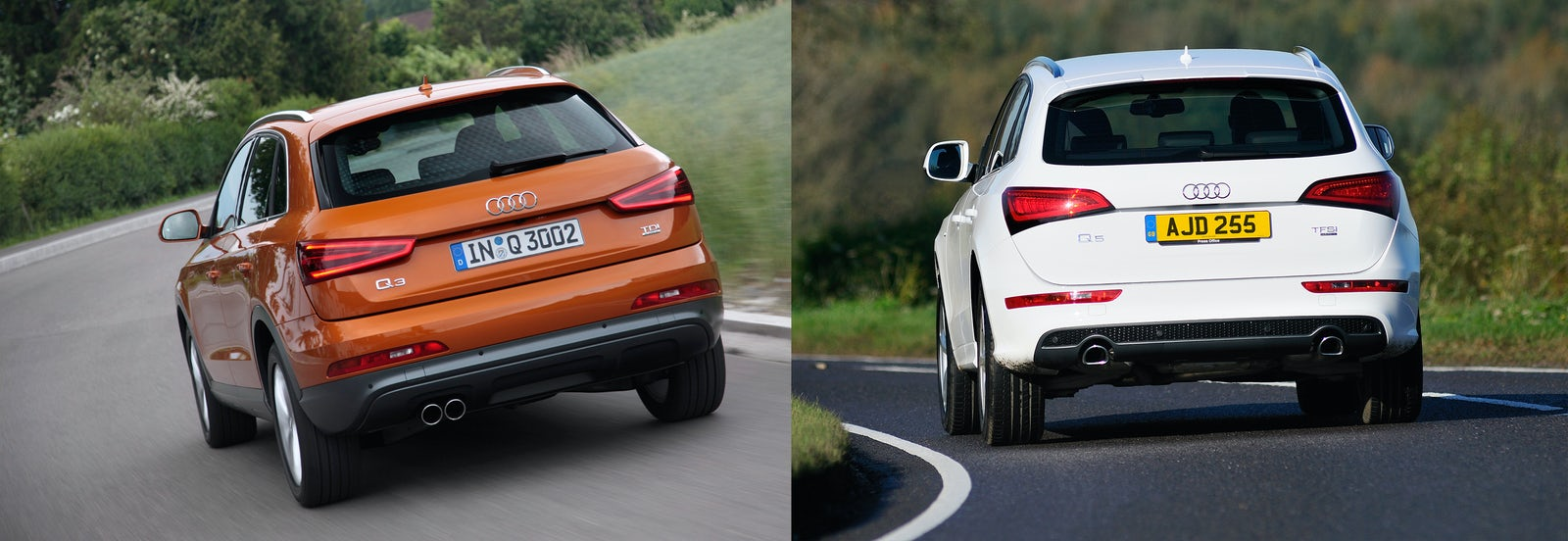 Audi Q Vs Audi Q Sidebyside UK Comparison Carwow - Audi q5 family car