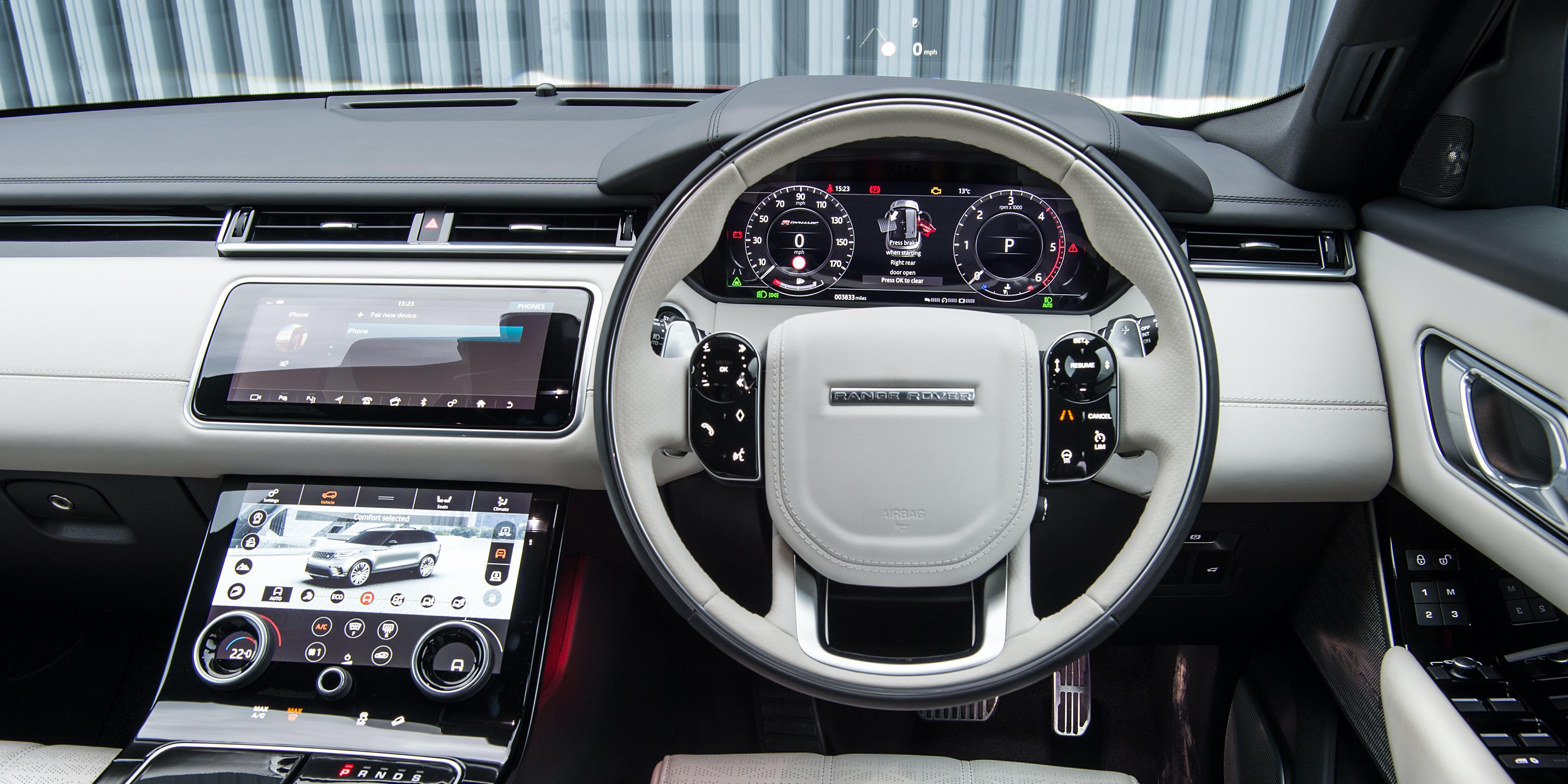Land Rover Range Rover Velar Interior Amp Infotainment Carwow