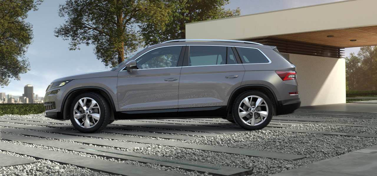 skoda kodiaq colours guide and prices | carwow