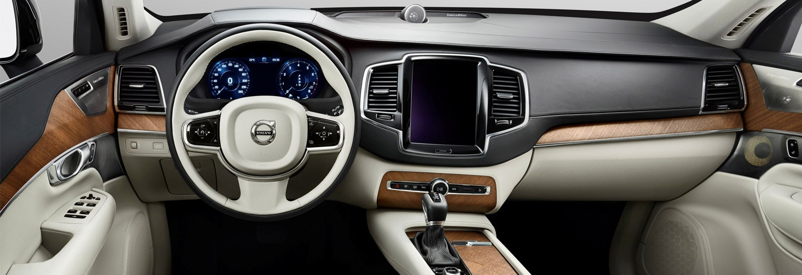 The XC40's interior should draw inspiration from the XC90, shown ...