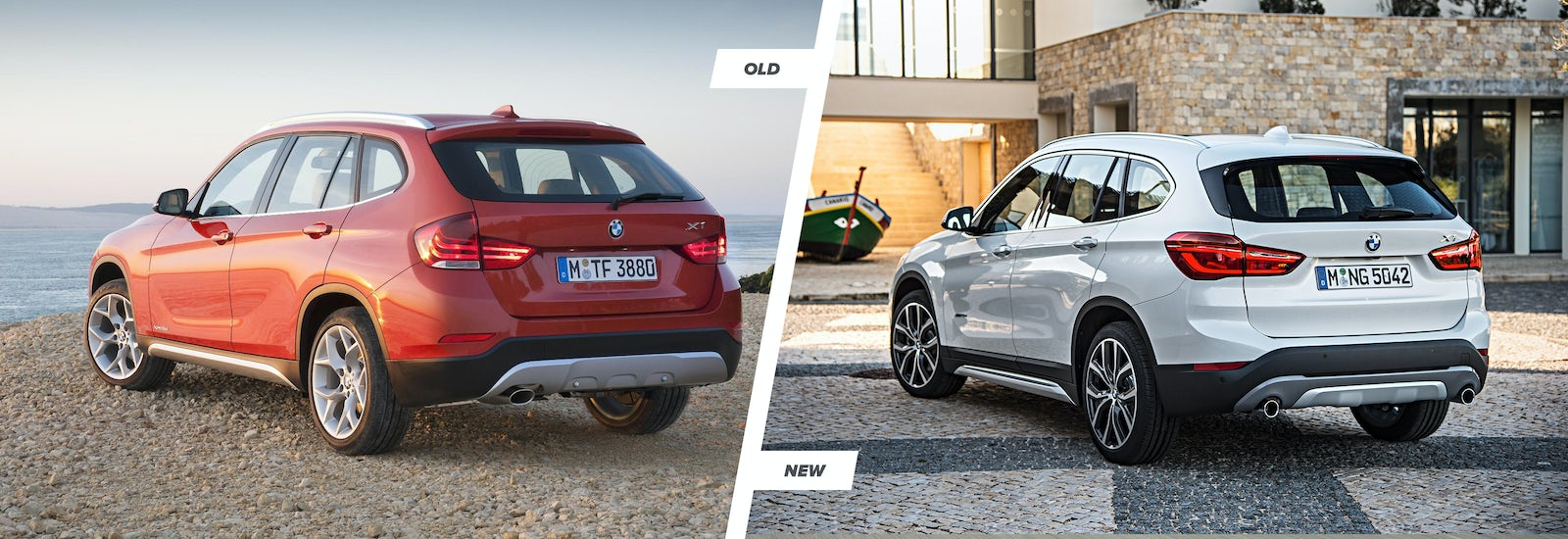 Along The Sides Of New X1 It S Easy To Spot Shorter Bonnet And Longer Roof Which Balances Out Extra 53mm Height Boasted By 2017 Model